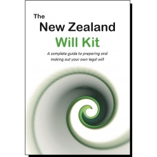 The New Zealand Will Kit - for one person