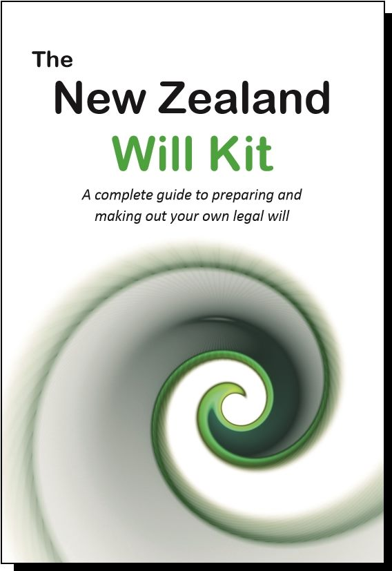 New Zealand Will Kit - one person will kit